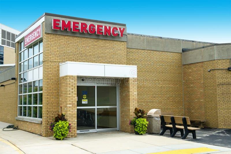 Cuidados médicos médicos das urgências do hospital, dae (dispositivo automático de entrada) fotos de stock royalty free