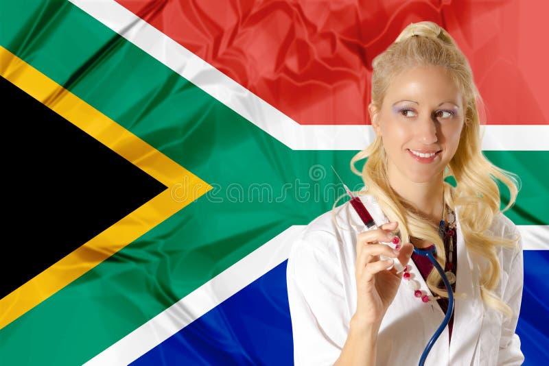 Cuidados médicos de África do Sul imagem de stock royalty free
