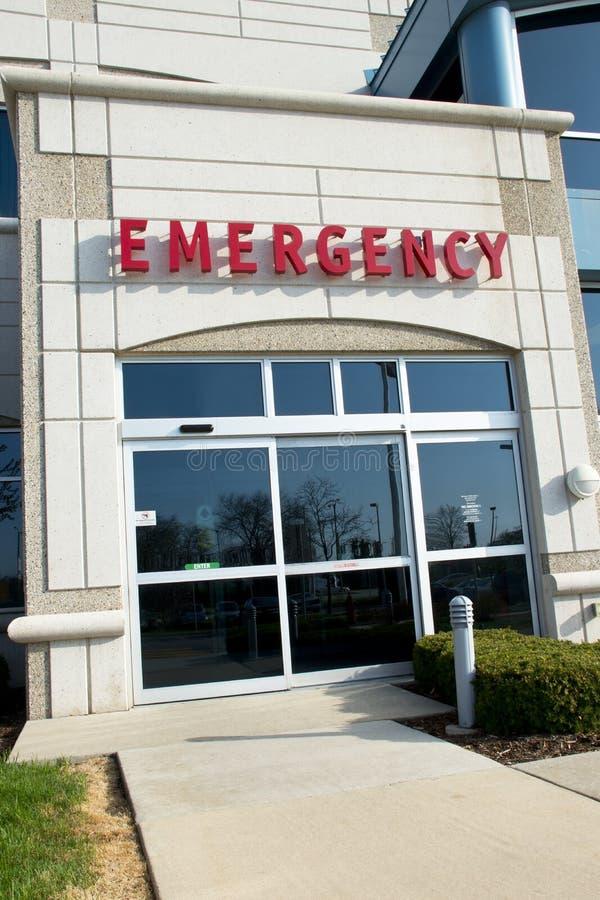Cuidados médicos médicos das urgências do hospital, dae (dispositivo automático de entrada) imagens de stock