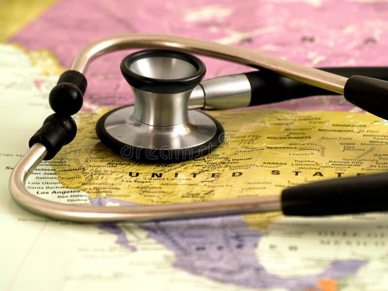 Cuidados médicos nos E.U. foto de stock
