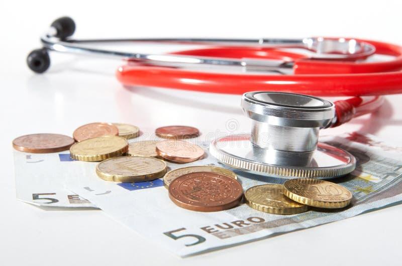 Cuidados médicos Overpriced foto de stock