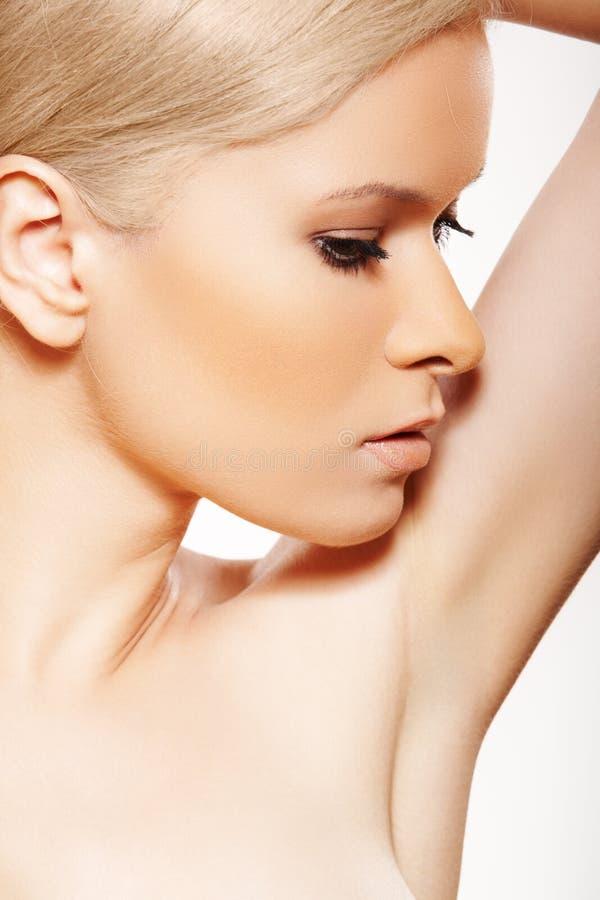 Cuidados médicos. Termas. Wellness, beleza e cuidado de pele fotografia de stock royalty free