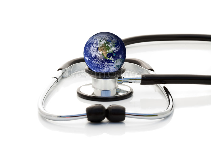 Cuidados médicos universais imagem de stock