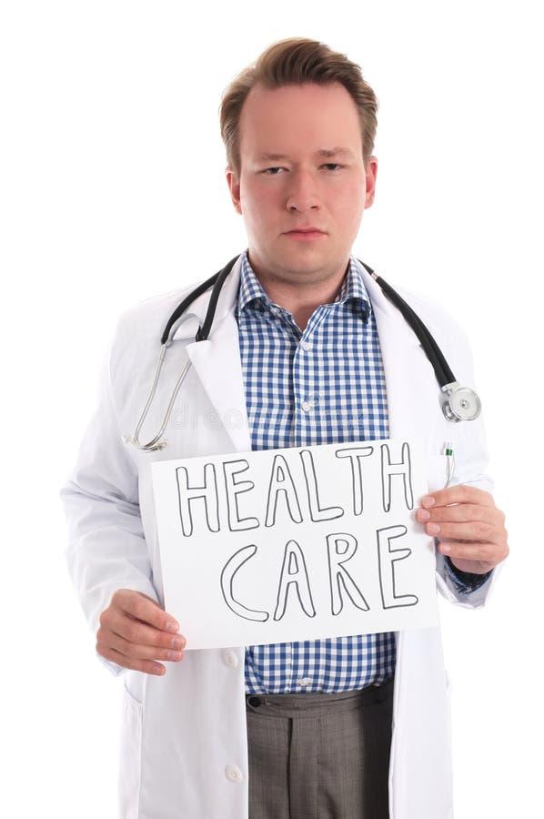 Cuidados médicos (versão séria) imagem de stock royalty free
