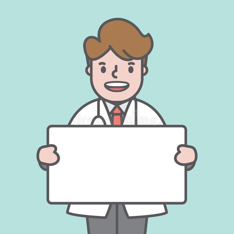 Cuide el vector del ejemplo del tablero del carácter y de cuadro de texto en b verde libre illustration