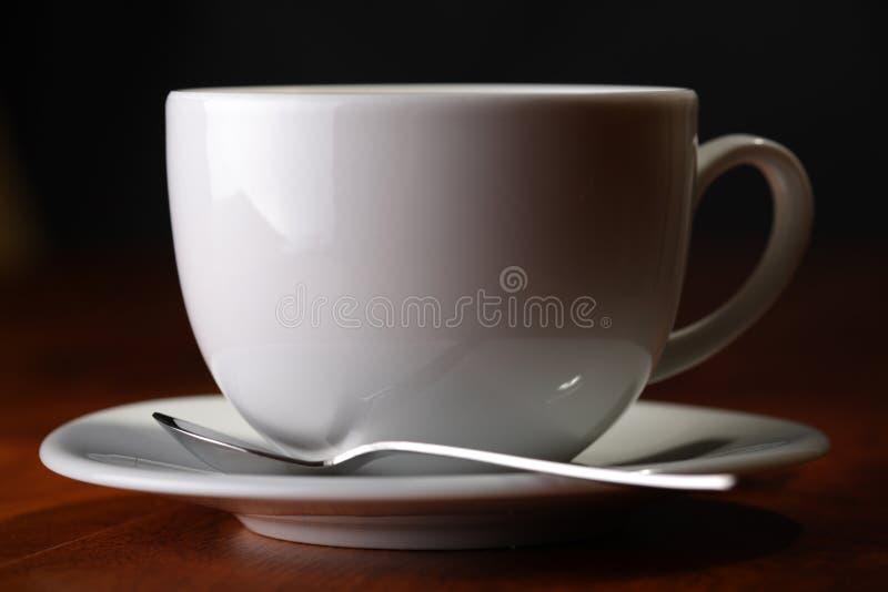 cuillère de cuvette de café photographie stock libre de droits