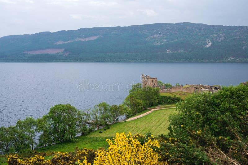 Cuillin山,斯凯,内赫布里底群岛,苏格兰,U小岛  图库摄影