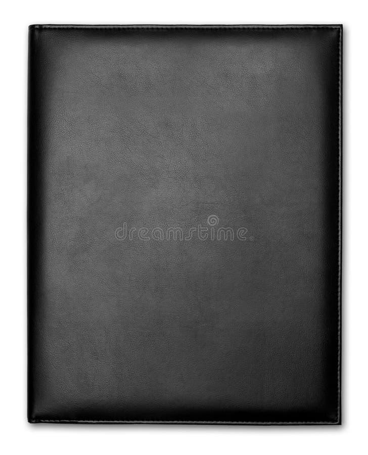 cuir noir de cas photo libre de droits