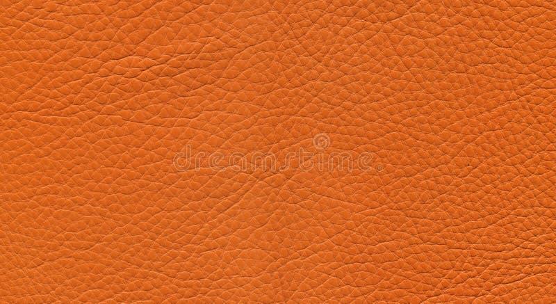 Cuir orange images libres de droits