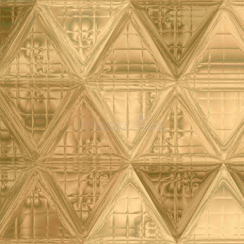 Cuir ou peau continu abstrait élégant tendre attrayant d'effet de fond de triangle de motif de couleur pâle illustration stock