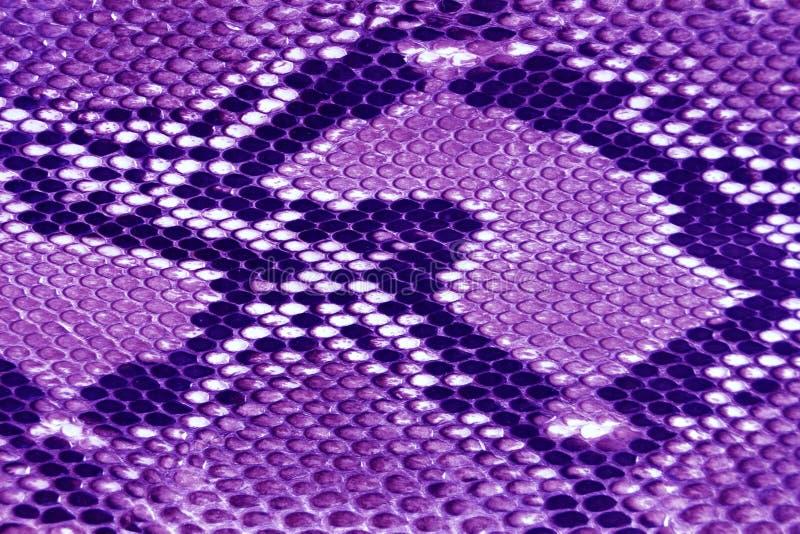 cuir pourpre de texture photo libre de droits