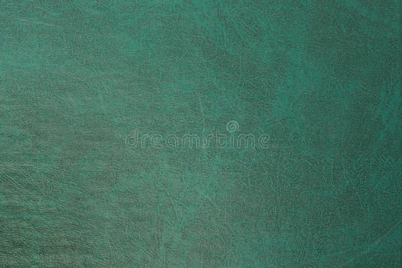 Cuir vert-foncé de haute résolution photo stock