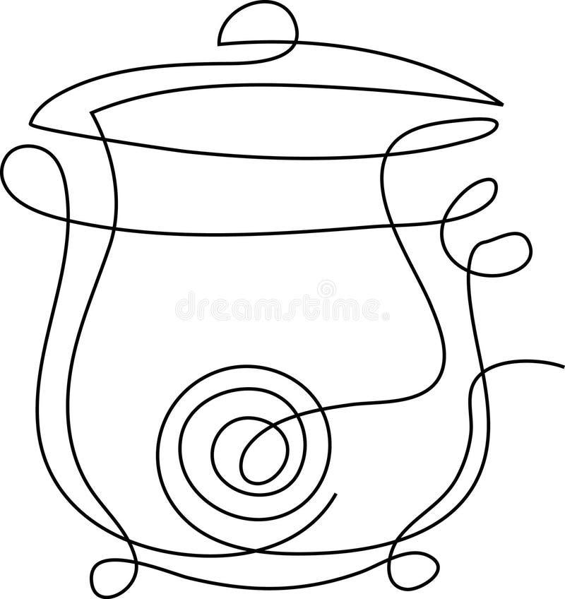 cuiseur illustration de vecteur
