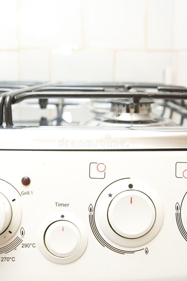 Cuiseur de brûleur à gaz photo stock