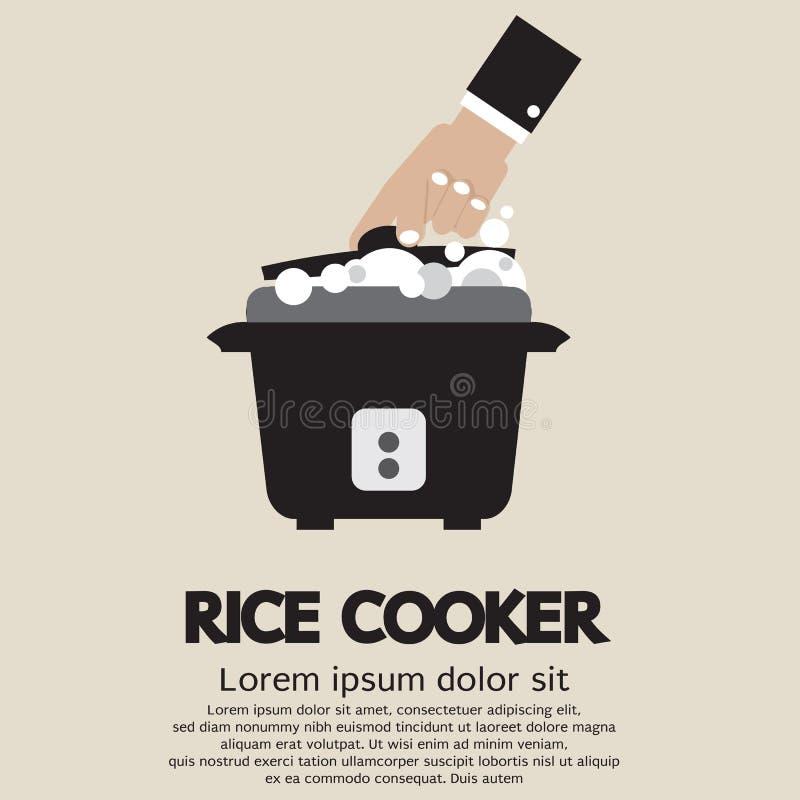 Cuiseur de riz illustration libre de droits