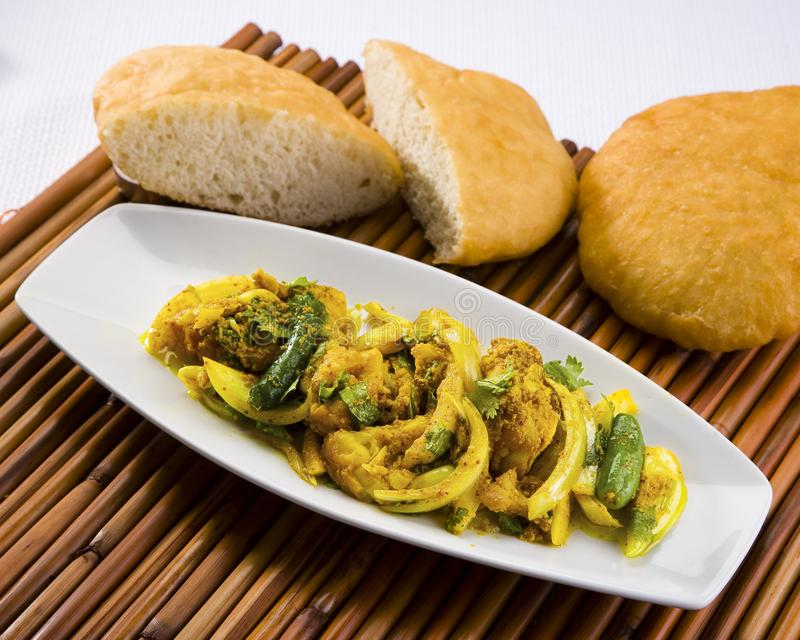 Cuisine épicée mauricienne photographie stock
