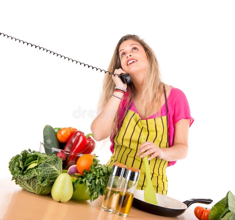 Download Cuisine image stock. Image du people, culinaire, téléphone - 45352443