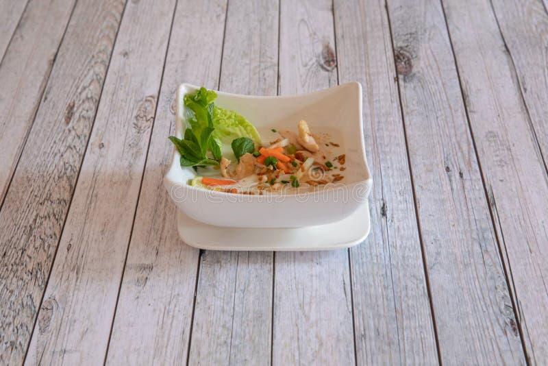 Cuisine asiatique et tha?landaise photo stock