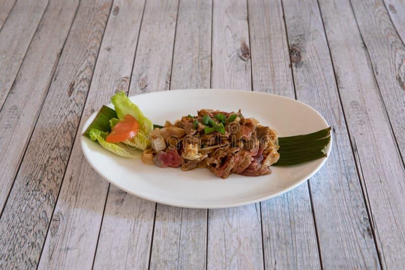 Cuisine asiatique et tha?landaise image stock