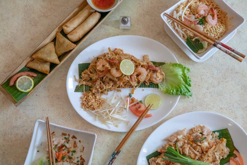 Cuisine asiatique et tha?landaise image libre de droits