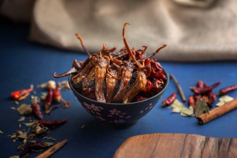 Cuisine chinoise de Sichuan de nourriture de plat image stock