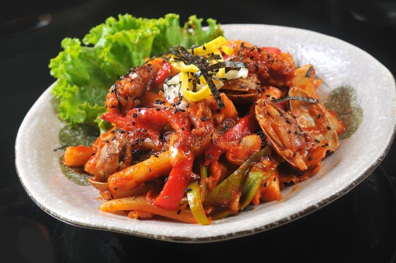 Cuisine coréenne image stock