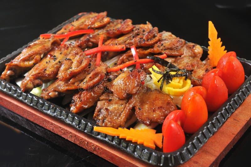 Cuisine coréenne photo libre de droits