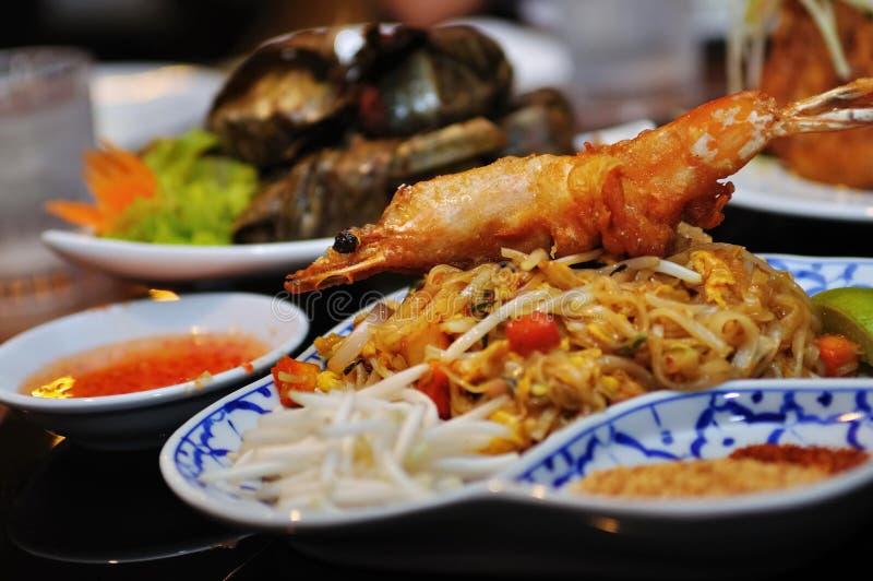 Cuisine d'Indonésien et de la Thaïlande image libre de droits
