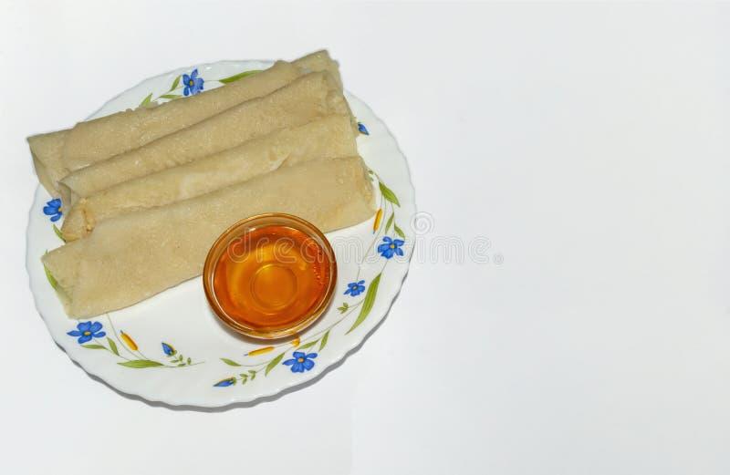 Cuisine de Bengali - Patishapta Pitha images libres de droits