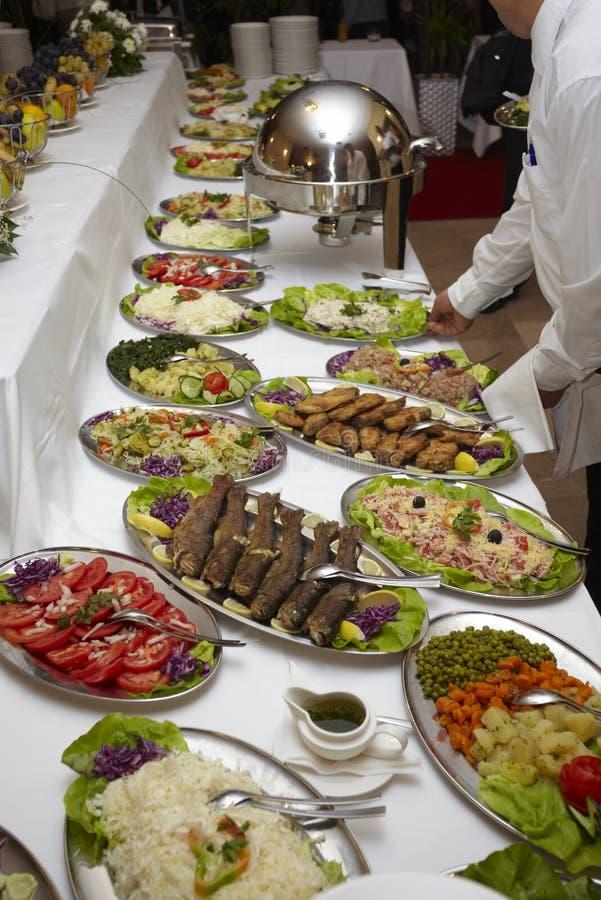 Cuisine de restaurant de nourriture de restauration photo libre de droits