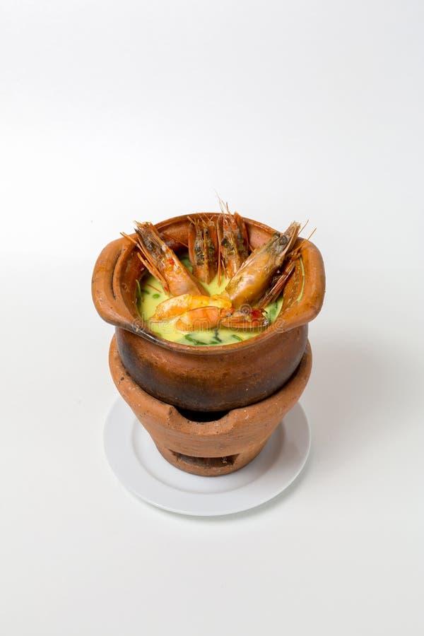 Cuisine de Tom Yam Goong Thai photographie stock libre de droits