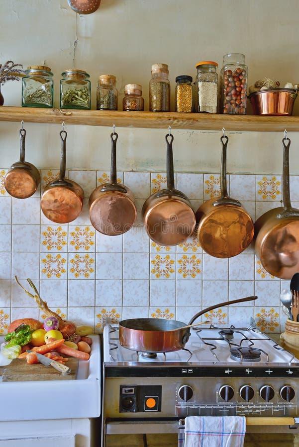 Cuisine deux photos libres de droits
