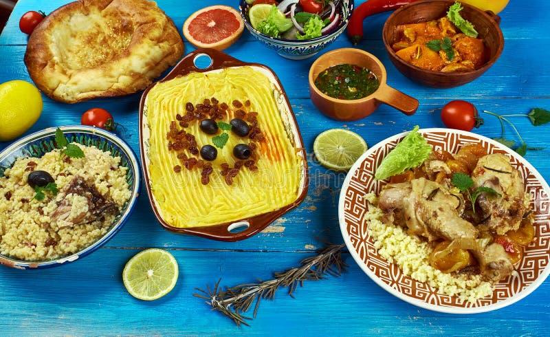 Cuisine du Maghreb image libre de droits