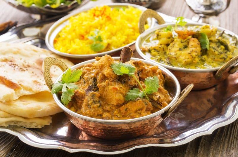 Cuisine indienne photos libres de droits