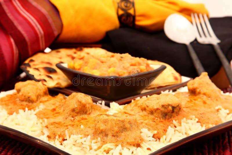 Cuisine indienne images libres de droits