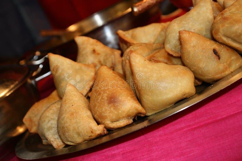Nourriture indienne/Samosa images stock