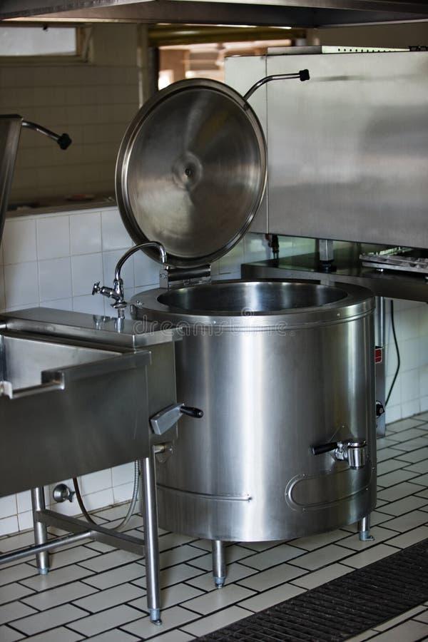 Cuisine industrielle images libres de droits