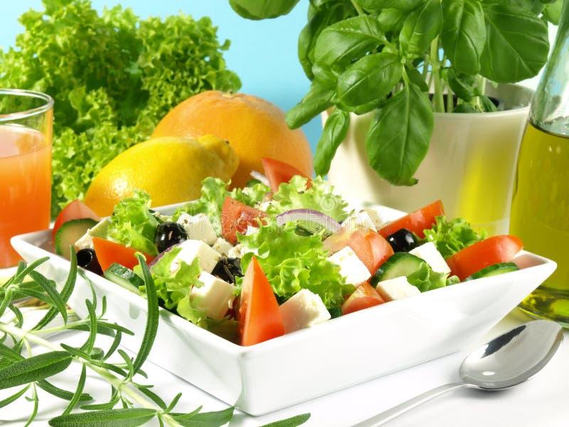 Cuisine méditerranéenne - Grèce image stock