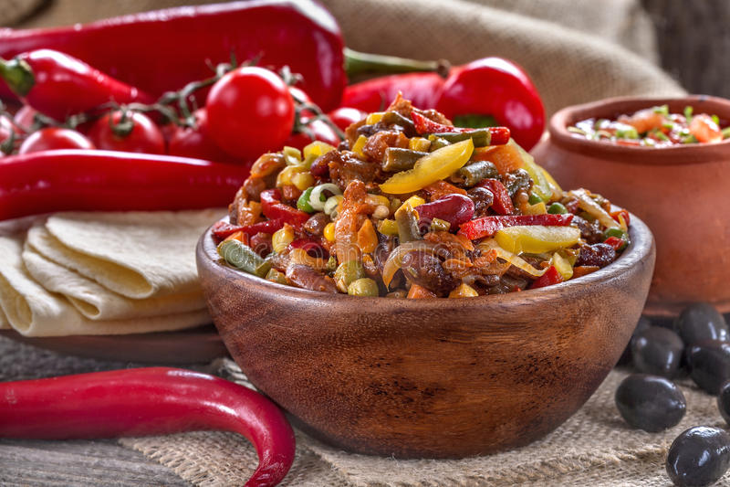 Cuisine mexicaine photos libres de droits