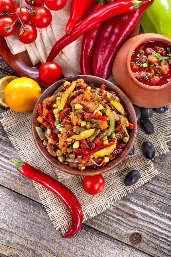 Cuisine mexicaine photographie stock