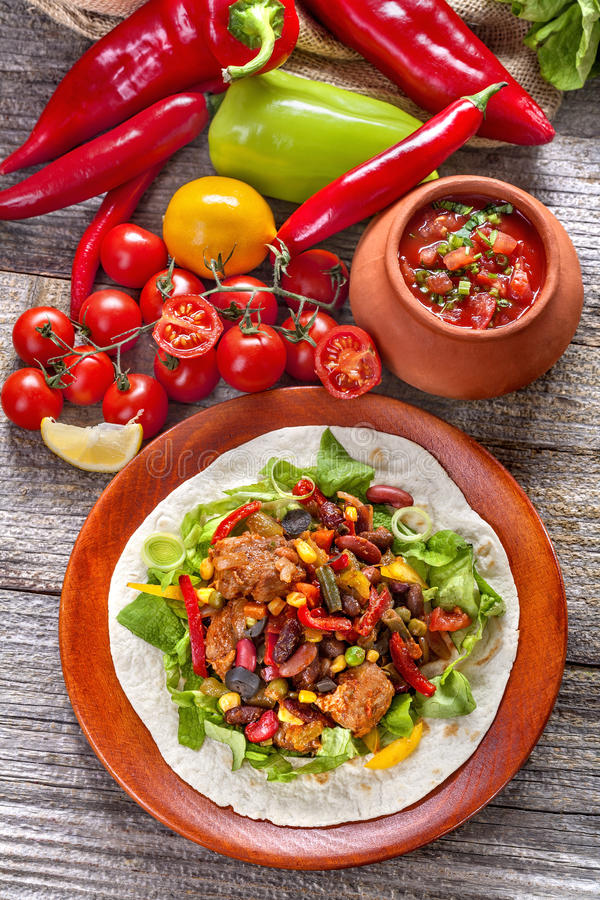 Cuisine mexicaine photos stock