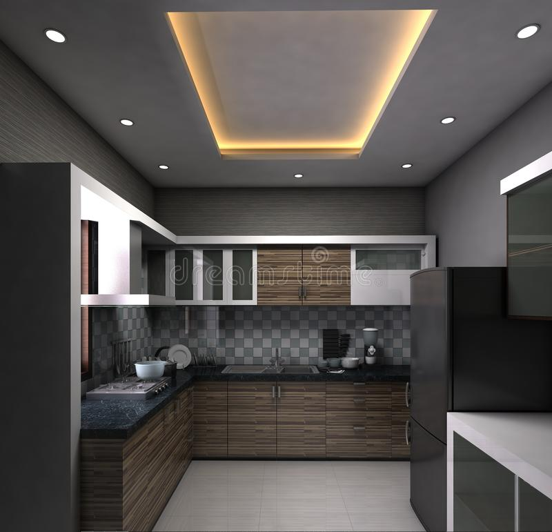 Cuisine modulaire images stock