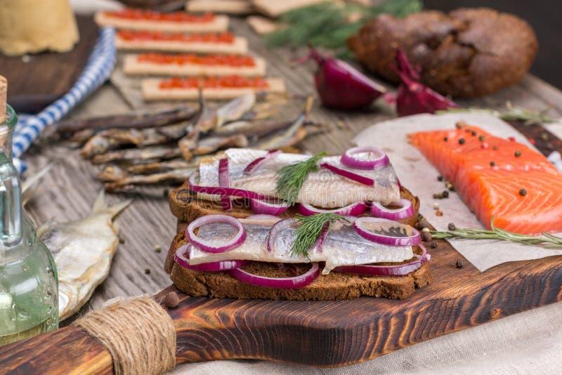 Cuisine Norvégienne Traditionnelle Photo Stock Image Du Sandwich - Cuisine norvegienne