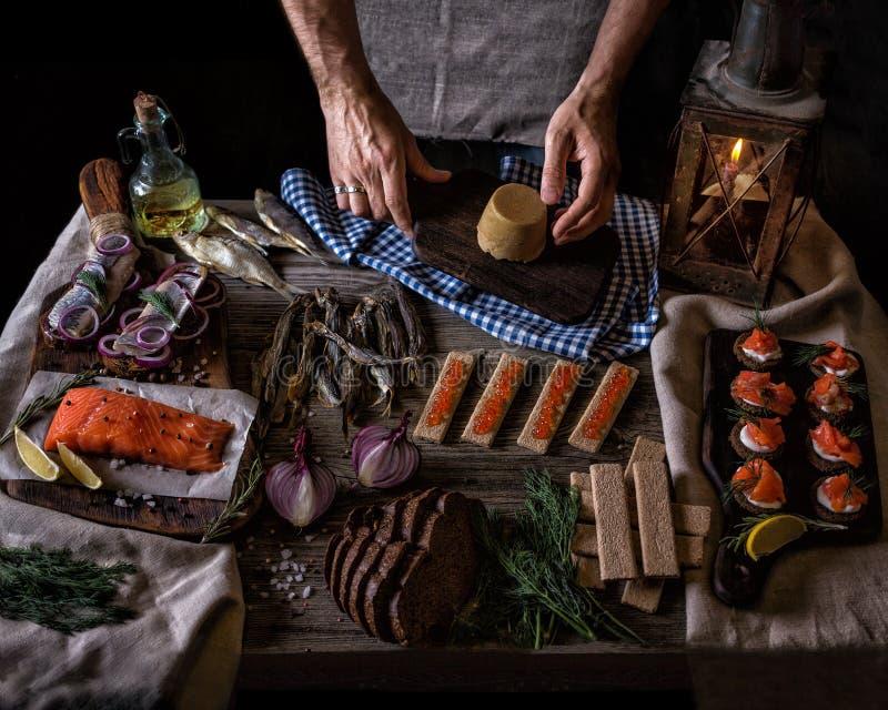 Cuisine Norvégienne Traditionnelle Image Stock Image Du Pain - Cuisine norvegienne