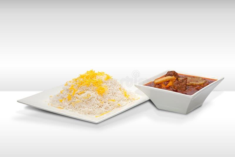 Cuisine persane image libre de droits