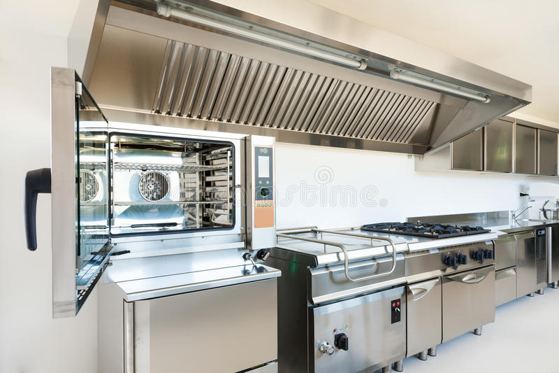 Cuisine professionnelle photo stock