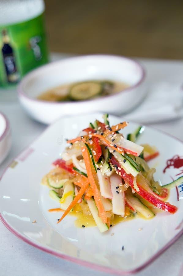 Cuisine sud-coréenne photo libre de droits