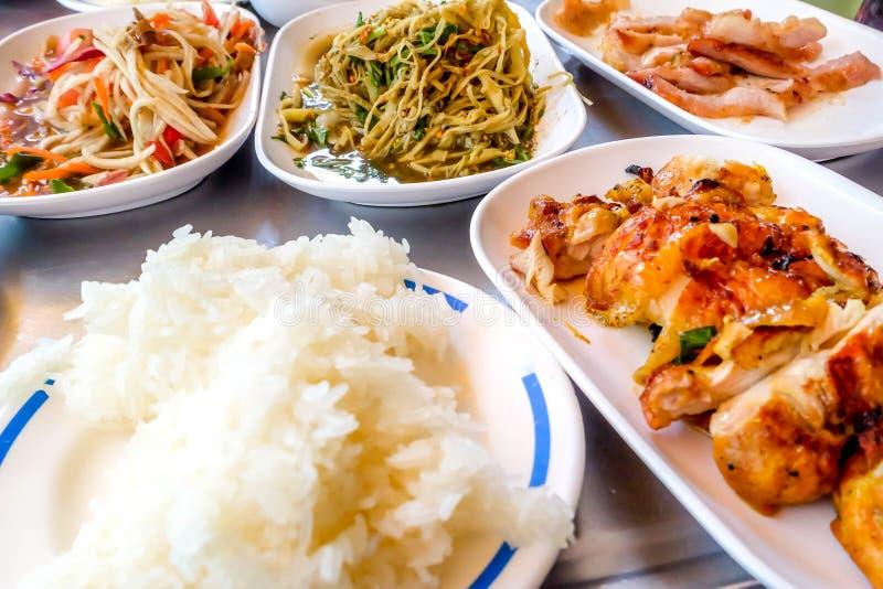 Cuisine thaïe photographie stock libre de droits