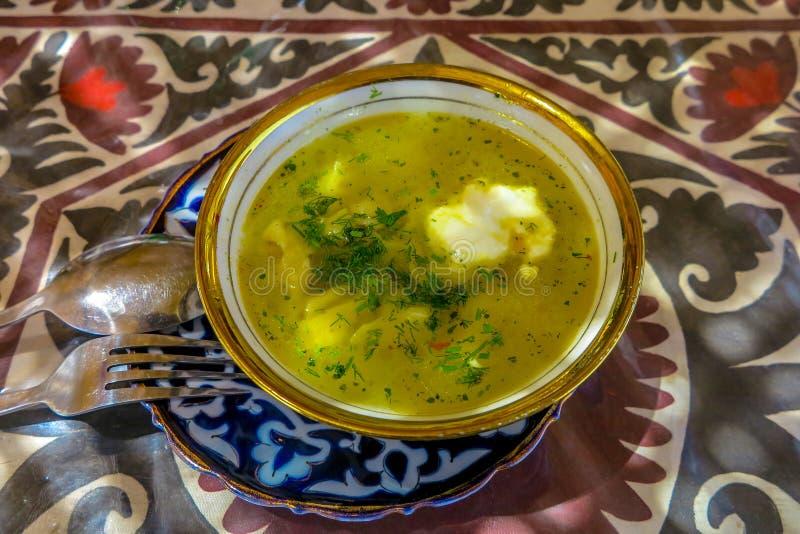 Cuisine traditionnelle 08 d'Ouzbékistan image stock