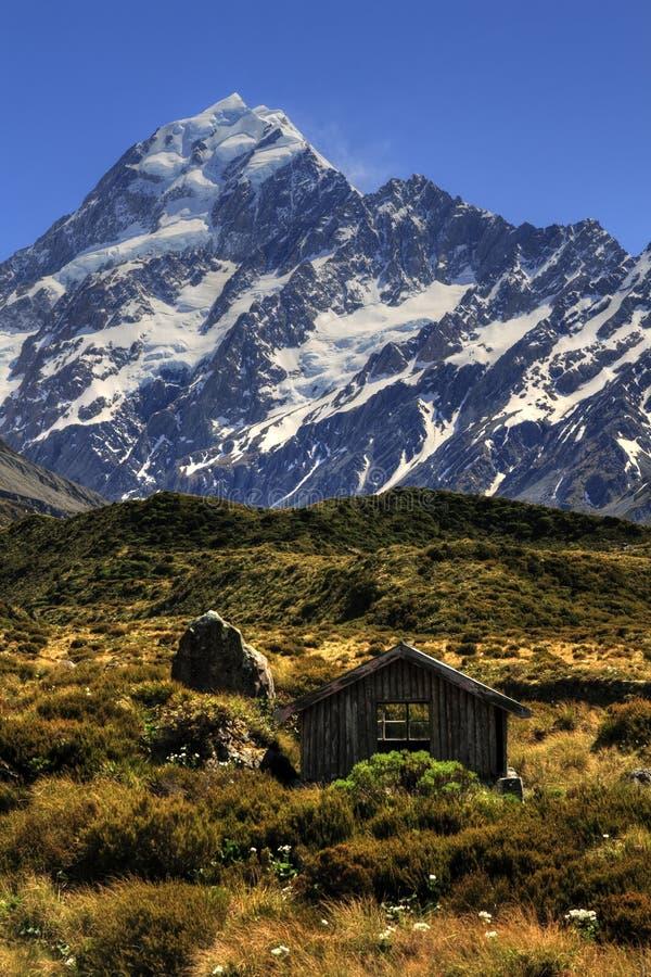 Cuisinier de Mt de hutte de montagne photos libres de droits